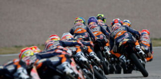Sachsenring Is Half Way To Rookies Cup Glory